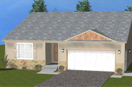 3d rendering of Avery House Plan