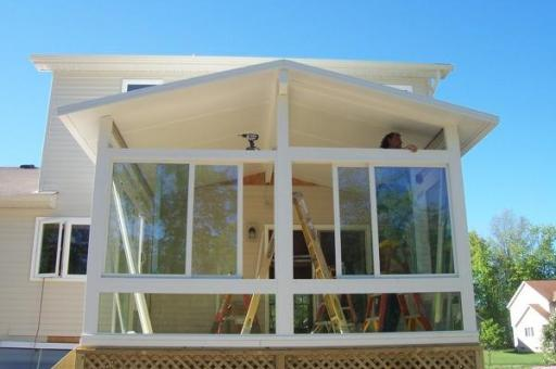 step by step sunroom building - 15