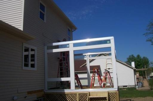 step by step sunroom building - 6