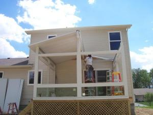 step by step sunroom building - 12