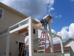 step by step sunroom building - 8